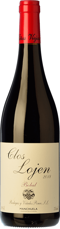 9,95 € Free Shipping | Red wine Ponce Clos Lojen Joven D.O. Manchuela Castilla la Mancha Spain Bobal Bottle 75 cl