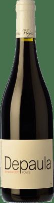 7,95 € Envío gratis | Vino tinto Ponce Depaula Joven I.G.P. Vino de la Tierra de Castilla Castilla la Mancha España Monastrell Botella 75 cl