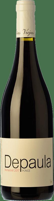7,95 € Envío gratis   Vino tinto Ponce Depaula Joven I.G.P. Vino de la Tierra de Castilla Castilla la Mancha España Monastrell Botella 75 cl