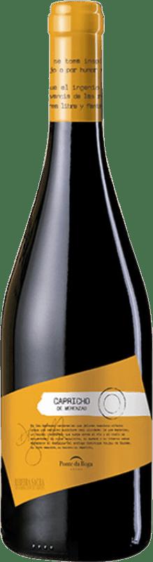 29,95 € Envío gratis | Vino tinto Ponte da Boga Capricho Crianza D.O. Ribeira Sacra Galicia España Merenzao Botella 75 cl