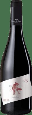 24,95 € Kostenloser Versand | Rotwein Ponte da Boga Porto de Lobos Crianza D.O. Ribeira Sacra Galizien Spanien Brancellao Flasche 75 cl