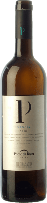 9,95 € Free Shipping | Red wine Ponte da Boga Joven D.O. Ribeira Sacra Galicia Spain Mencía Bottle 75 cl