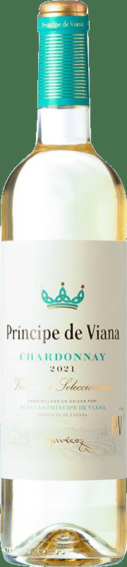 6,95 € Envoi gratuit | Vin blanc Príncipe de Viana Barrica Crianza D.O. Navarra Navarre Espagne Chardonnay Bouteille 75 cl