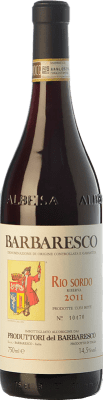 52,95 € Free Shipping | Red wine Produttori del Barbaresco Rio Sordo D.O.C.G. Barbaresco Piemonte Italy Nebbiolo Bottle 75 cl