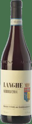 15,95 € Envío gratis | Vino tinto Produttori del Barbaresco D.O.C. Langhe Piemonte Italia Nebbiolo Botella 75 cl