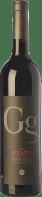13,95 € Free Shipping | Red wine Puiggròs Signes Crianza D.O. Catalunya Catalonia Spain Grenache, Sumoll Bottle 75 cl