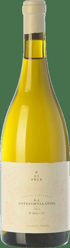 53,95 € Envío gratis | Vino blanco Pujanza Anteportalatina Crianza D.O.Ca. Rioja La Rioja España Viura Botella 75 cl