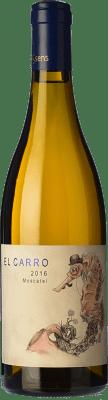 13,95 € Free Shipping | White wine Bernabé El Carro Crianza D.O. Alicante Valencian Community Spain Muscat of Alexandria Bottle 75 cl