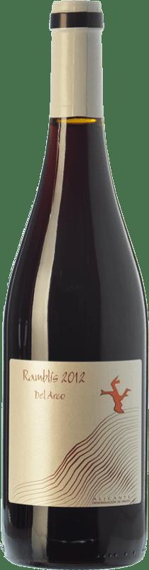 11,95 € Free Shipping | Red wine Bernabé Ramblis Joven D.O. Alicante Valencian Community Spain Forcayat del Arco Bottle 75 cl