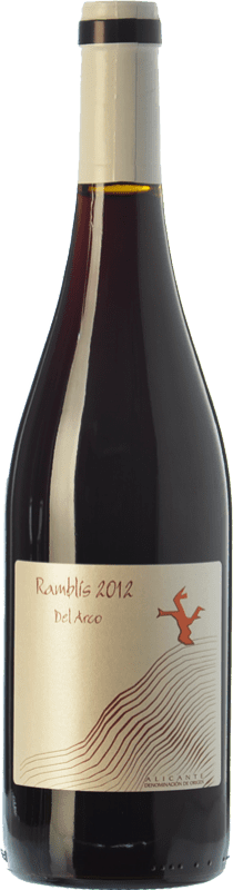 11,95 € Envío gratis   Vino tinto Bernabé Ramblis Joven D.O. Alicante Comunidad Valenciana España Forcayat del Arco Botella 75 cl