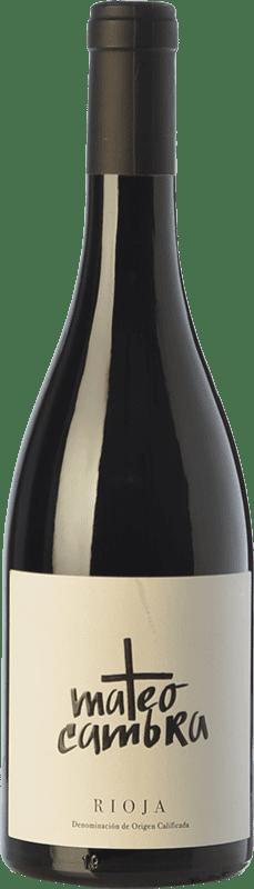 13,95 € Free Shipping | Red wine Rafael Cambra Mateo Cambra Crianza D.O.Ca. Rioja The Rioja Spain Grenache Bottle 75 cl