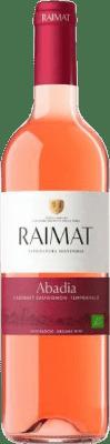 9,95 € Free Shipping | Rosé wine Raimat Abadia Rosé D.O. Costers del Segre Catalonia Spain Tempranillo, Cabernet Sauvignon Bottle 75 cl