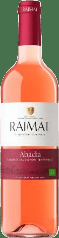 7,95 € Envoi gratuit | Vin rose Raimat Abadia Rosé D.O. Costers del Segre Catalogne Espagne Tempranillo, Cabernet Sauvignon Bouteille 75 cl