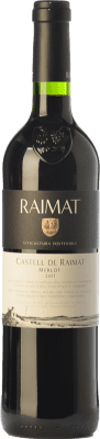 11,95 € Free Shipping | Red wine Raimat Castell Crianza D.O. Costers del Segre Catalonia Spain Merlot Bottle 75 cl