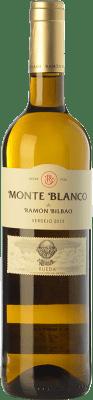 7,95 € Envío gratis | Vino blanco Ramón Bilbao Monte D.O. Rueda Castilla y León España Verdejo Botella 75 cl