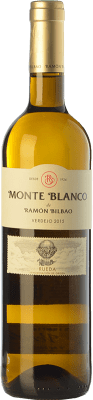 6,95 € Free Shipping | White wine Ramón Bilbao Monte D.O. Rueda Castilla y León Spain Verdejo Bottle 75 cl | Thousands of wine lovers trust us to get the best price guarantee, free shipping always and hassle-free shopping and returns.