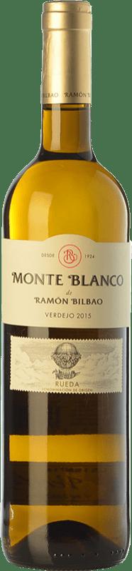 9,95 € Free Shipping | White wine Ramón Bilbao Monte D.O. Rueda Castilla y León Spain Verdejo Bottle 75 cl