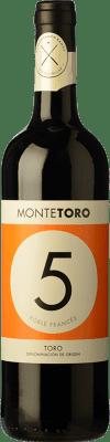 9,95 € Kostenloser Versand | Rotwein Ramón Ramos Monte Toro Roble D.O. Toro Kastilien und León Spanien Tinta de Toro Flasche 75 cl