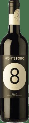 9,95 € Kostenloser Versand | Rotwein Ramón Ramos Monte Toro Selección Crianza D.O. Toro Kastilien und León Spanien Tinta de Toro Flasche 75 cl