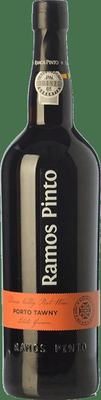 15,95 € Envío gratis | Vino generoso Ramos Pinto Tawny I.G. Porto Porto Portugal Tinta Roriz, Tinta Cão Botella 75 cl