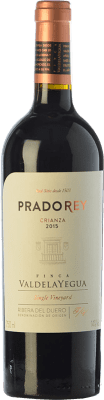 14,95 € Free Shipping | Red wine Ventosilla PradoRey Crianza D.O. Ribera del Duero Castilla y León Spain Tempranillo, Merlot, Cabernet Sauvignon Bottle 75 cl