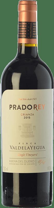 12,95 € Free Shipping | Red wine Ventosilla PradoRey Crianza D.O. Ribera del Duero Castilla y León Spain Tempranillo, Merlot, Cabernet Sauvignon Bottle 75 cl