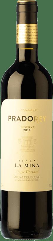 24,95 € Envío gratis | Vino tinto Ventosilla PradoRey Reserva D.O. Ribera del Duero Castilla y León España Tempranillo, Merlot, Cabernet Sauvignon Botella 75 cl