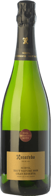 27,95 € Free Shipping | White sparkling Recaredo Subtil Finca Serral del Roure Gran Reserva 2011 D.O. Cava Catalonia Spain Macabeo, Xarel·lo, Chardonnay Bottle 75 cl. | Thousands of wine lovers trust us to get the best price guarantee, free shipping always and hassle-free shopping and returns.
