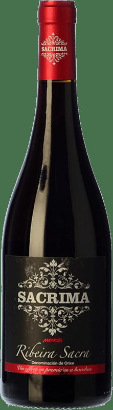 8,95 € Free Shipping | Red wine Regina Viarum Sacrima Mencia Joven D.O. Ribeira Sacra Galicia Spain Mencía Bottle 75 cl
