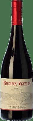 9,95 € Envío gratis | Vino tinto Regina Viarum Joven D.O. Ribeira Sacra Galicia España Mencía Botella 75 cl