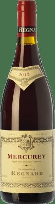 43,95 € Free Shipping | Red wine Régnard Rouge Joven A.O.C. Mercurey Burgundy France Pinot Black Bottle 75 cl