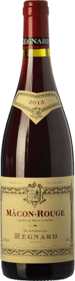 17,95 € Free Shipping | Red wine Régnard Rouge Crianza A.O.C. Mâcon Burgundy France Gamay Bottle 75 cl