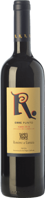 13,95 € Envío gratis | Vino tinto Remírez de Ganuza Erre Punto Joven D.O.Ca. Rioja La Rioja España Tempranillo, Graciano, Viura, Malvasía Botella 75 cl