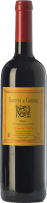 71,95 € Free Shipping | Red wine Remírez de Ganuza Reserva 2011 D.O.Ca. Rioja The Rioja Spain Tempranillo, Graciano Bottle 75 cl