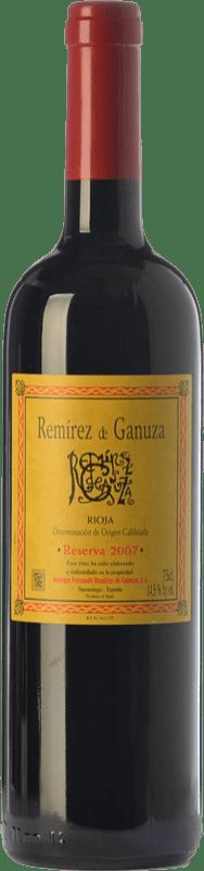 53,95 € Envío gratis | Vino tinto Remírez de Ganuza Reserva D.O.Ca. Rioja La Rioja España Tempranillo, Graciano Botella 75 cl