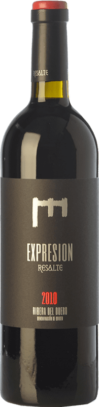 32,95 € Envío gratis | Vino tinto Resalte Expresión Reserva D.O. Ribera del Duero Castilla y León España Tempranillo Botella 75 cl
