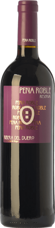 18,95 € Free Shipping | Red wine Resalte Peña Reserva D.O. Ribera del Duero Castilla y León Spain Tempranillo Bottle 75 cl
