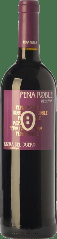 18,95 € Envío gratis | Vino tinto Resalte Peña Reserva D.O. Ribera del Duero Castilla y León España Tempranillo Botella 75 cl