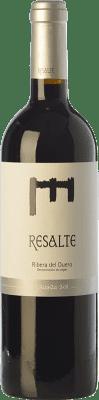 16,95 € Envío gratis | Vino tinto Resalte Crianza D.O. Ribera del Duero Castilla y León España Tempranillo Botella 75 cl