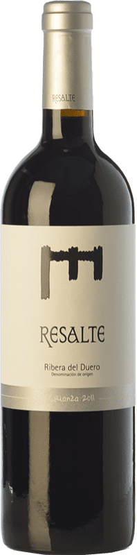 16,95 € Free Shipping | Red wine Resalte Crianza D.O. Ribera del Duero Castilla y León Spain Tempranillo Bottle 75 cl