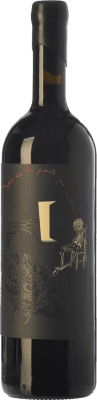 51,95 € Free Shipping | Red wine Ribas Desconfío Crianza I.G.P. Vi de la Terra de Mallorca Balearic Islands Spain Mantonegro Bottle 75 cl