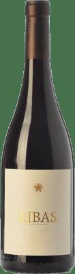 17,95 € Free Shipping | Red wine Ribas Negre Crianza I.G.P. Vi de la Terra de Mallorca Balearic Islands Spain Merlot, Syrah, Cabernet Sauvignon, Mantonegro Bottle 75 cl