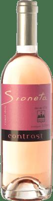 15,95 € Free Shipping | Sweet wine Ribas Sioneta Rosat I.G.P. Vi de la Terra de Mallorca Balearic Islands Spain Mantonegro Half Bottle 50 cl