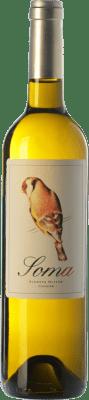 19,95 € Free Shipping | White wine Ribas Soma Crianza I.G.P. Vi de la Terra de Mallorca Balearic Islands Spain Viognier Bottle 75 cl