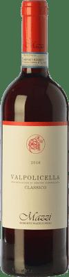 14,95 € Free Shipping | Red wine Mazzi Classico D.O.C. Valpolicella Veneto Italy Corvina, Rondinella, Corvinone, Molinara Bottle 75 cl