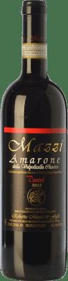 76,95 € Free Shipping | Red wine Mazzi Classico Castel D.O.C.G. Amarone della Valpolicella Veneto Italy Corvina, Rondinella, Corvinone, Molinara Bottle 75 cl