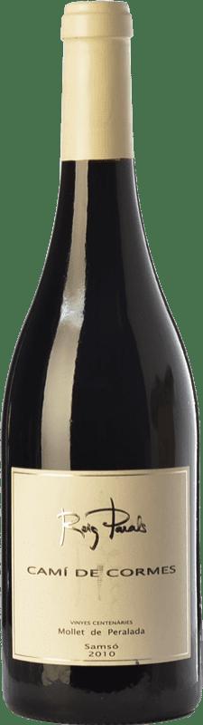 32,95 € Free Shipping | Red wine Roig Parals Camí de Cormes Crianza D.O. Empordà Catalonia Spain Carignan Bottle 75 cl