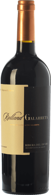 15,95 € Envoi gratuit | Vin rouge Rolland & Galarreta Crianza D.O. Ribera del Duero Castille et Leon Espagne Tempranillo, Merlot Bouteille 75 cl
