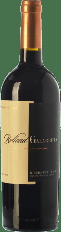 15,95 € Envío gratis | Vino tinto Rolland & Galarreta Crianza D.O. Ribera del Duero Castilla y León España Tempranillo, Merlot Botella 75 cl