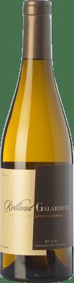 16,95 € Envío gratis | Vino blanco Rolland & Galarreta Crianza D.O. Rueda Castilla y León España Verdejo Botella 75 cl